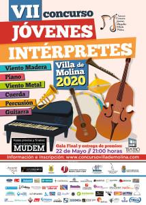 cartel VII Concurso Jóvenes Intérpretes Villa de Molina 2020 OK